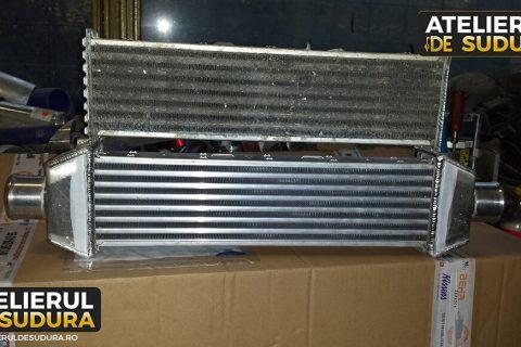 Modificare intercooler auto aluminiu 2