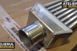 Modificare intercooler auto aluminiu 5