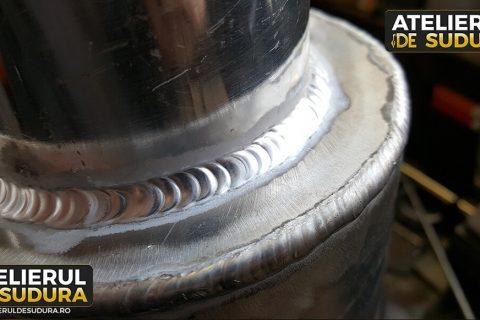 Sudura aluminiu componente auto 4