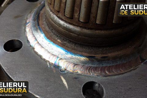 Reparatie fuzeta auto jeep otel 4