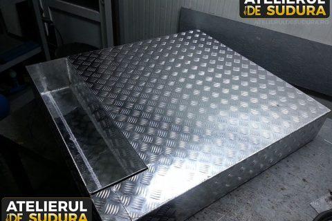 Cutie pentru depozitare Aluminiu 3