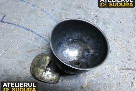 Reconstructie capac filtru de ulei otel 6