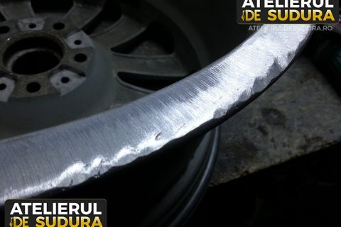 Reparatie sudura aluminiu janta