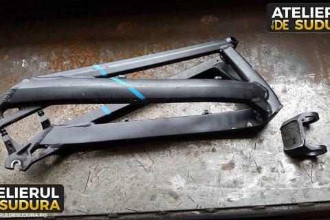 Sudura aluminiu cadru bicicleta
