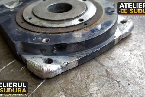 Sudura aluminiu – argon troliu auto 2