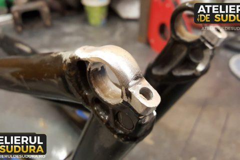 Aluminiu furca bicicleta reparatie 2