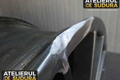 Sudura aluminiu janta Porsche 2