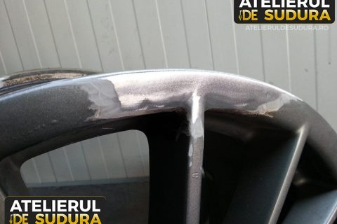 Sudura aluminiu janta Porsche 3