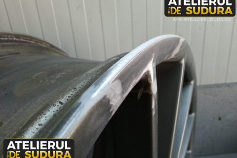 Sudura aluminiu janta Porsche 4