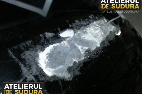 Reparatie capota auto aluminiu 4