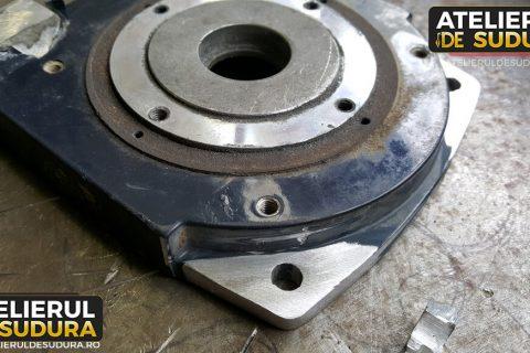 Sudura aluminiu – argon troliu auto 4