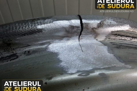 Sudura argon janta aluminiu BMW