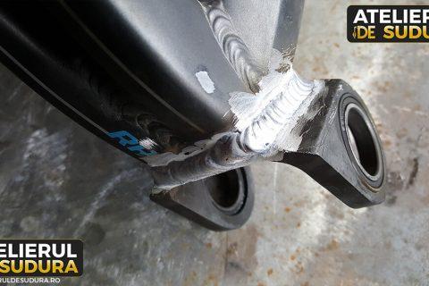 Sudura aluminiu cadru bicicleta 4
