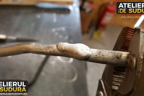 Sudura aluminiu conducta AC 4