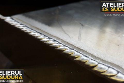 Sudura in aluminiu diverse componente 3