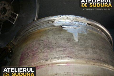 Sudura aluminiu janta aliaj 3