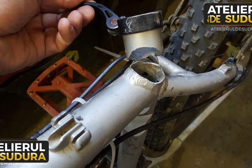 Cadru bicicleta aluminiu